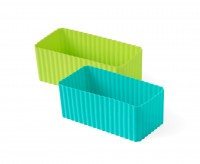 Bento Förmchen, 2er Set - LEKKABOX Cups